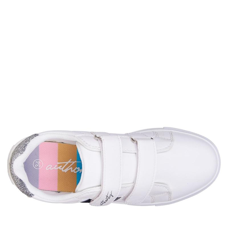 Detská rekreačná obuv AUTHORITY KIDS-Alexis white -