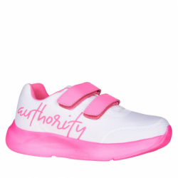 Detská rekreačná obuv AUTHORITY KIDS-Amber white/pink