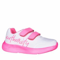 Dětská rekreační obuv AUTHORITY-Amber white / pink