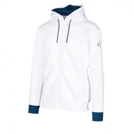 Pánska mikina so zipsom ANTA-Knit Track Top-852031710-1-White