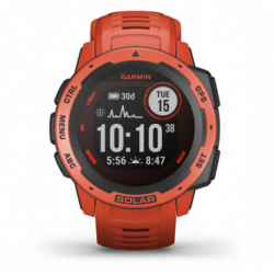 Monitor aktivity GARMIN-Instinct Solar, Flame Red