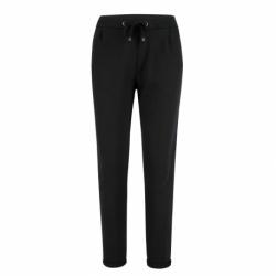 Dámske teplákové nohavice VOLCANO-N-ARIEL-700-BLACK