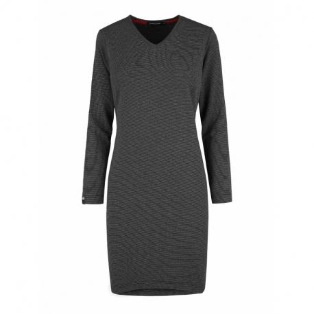 Dámské šaty VOLCANO-G-ZOE-702-GRAPHITE