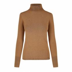 Dámsky sveter VOLCANO-S-JULI-509-CAMEL
