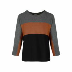 Dámsky sveter VOLCANO-S-RIO-702-GRAPHITE