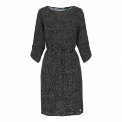 Dámske šaty VOLCANO-G-MOSA-700-BLACK