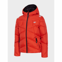 Chlapčenská bunda 4F-BOYS JACKET-HJZ20-JKUMP002-62S-RED