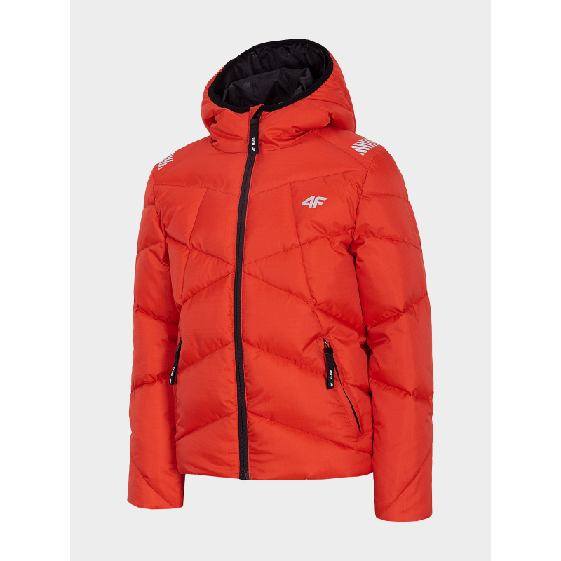 Chlapčenská bunda 4F-BOYS JACKET-HJZ20-JKUMP002-62S-RED -