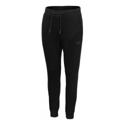 Chlapčenské teplákové nohavice 4F-BOYS TROUSERS-HJZ20-JSPMD001A-20S-DEEP BLACK