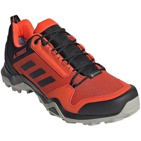 Pánska turistická obuv nízka ADIDAS-Terrex AX3 GTX gloam/cblack/sored