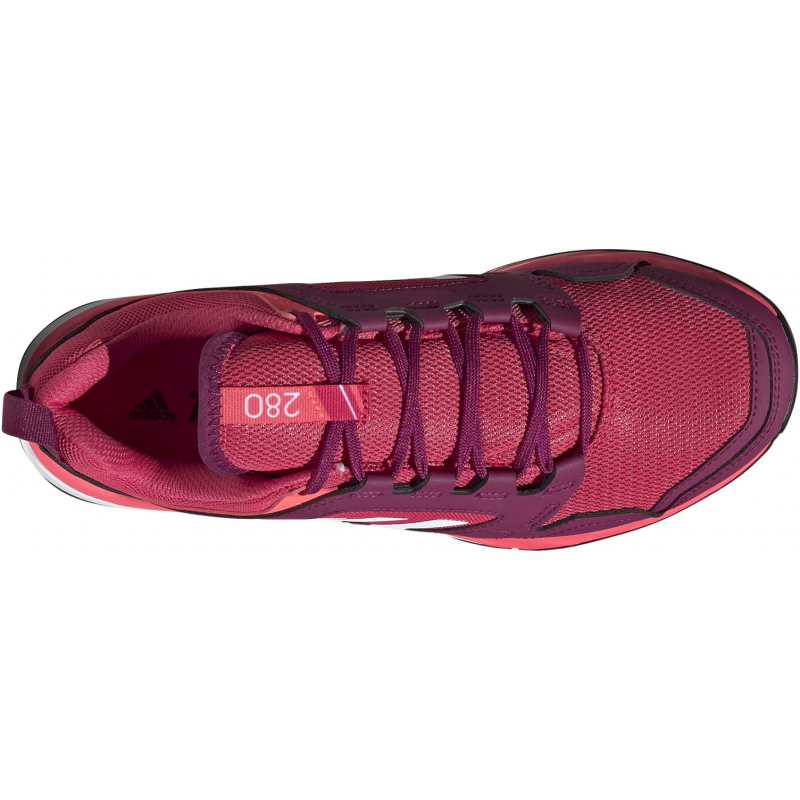 Dámská turistická obuv nízká ADIDAS-Terrex Agravic TR W powpnk / cwhite / sigpnk -