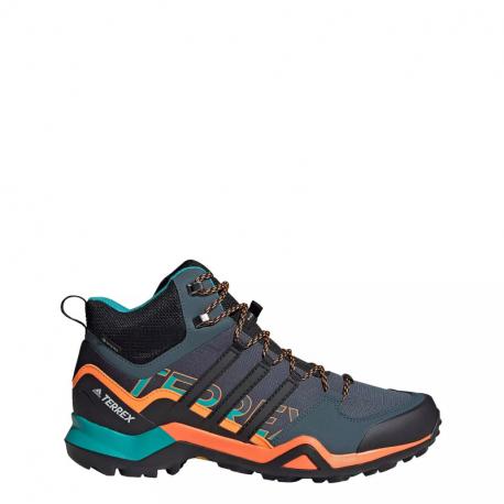 Pánska turistická obuv stredná ADIDAS-Terrex Swift R2 MID GTX legblu/cblack/sigorg (EX)