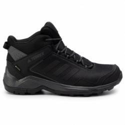 Pánská turistická obuv střední ADIDAS-Terrex Eastrail MID GTX carbon / cblack / grefive (EX)