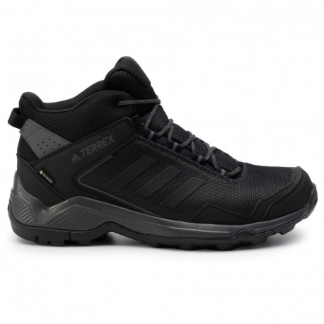 Pánska turistická obuv stredná ADIDAS-Terrex Eastrail MID GTX carbon/cblack/grefive (EX)