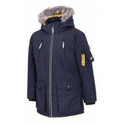 Chlapčenská bunda 4F-BOYS JACKET-HJZ20-JKUM001A-31S-NAVY