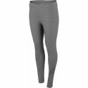 Dámske legíny 4F-WOMENS LEGGINGS-H4Z20-LEG011-24M-MIDDLE GREY MELANGE -