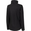 Dámska turistická softshellová bunda 4F-WOMENS SOFTSHELL-H4Z20-SFD003-20S-DEEP BLACK -