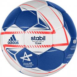 Hádzanárska lopta ADIDAS-STABIL TEAM 3 wht/blu