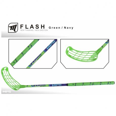 Juniorská florbalová hokejka MPS-FLASH Green JR L