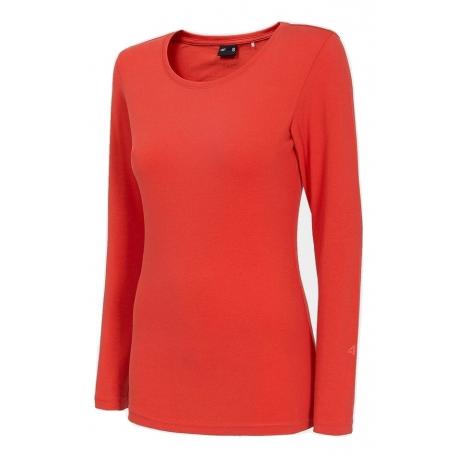 Dámske tričko s dlhým rukávom 4F-WOMENS LONGSLEEVE-NOSH4-TSDL001-62S-RED