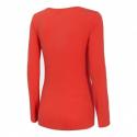 Dámske tričko s dlhým rukávom 4F-WOMENS LONGSLEEVE-NOSH4-TSDL001-62S-RED -