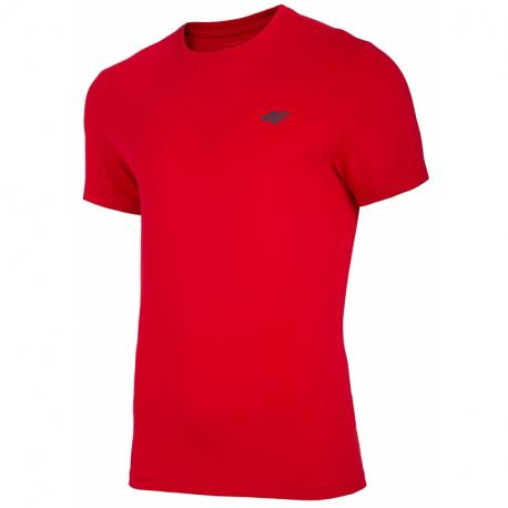 Pánske tričko s krátkym rukávom 4F-MENS T-SHIRT-NOSH4-TSM003-62S-RED