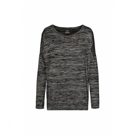 Dámske tričko s dlhým rukávom SAM73-Ava -500-Black