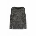 Dámske tričko s dlhým rukávom SAM73-Ava -500-Black -