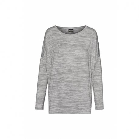 Dámske tričko s dlhým rukávom SAM73-Ava -401-Grey
