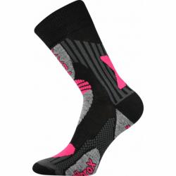 Turistické ponožky VOXX-Vision EXI black/pink