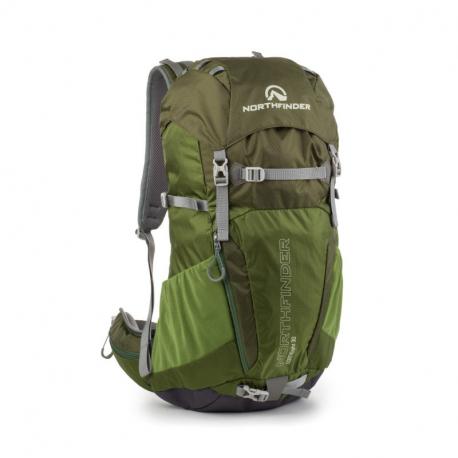 Turistický batoh NORTHFINDER-MOBUS Green
