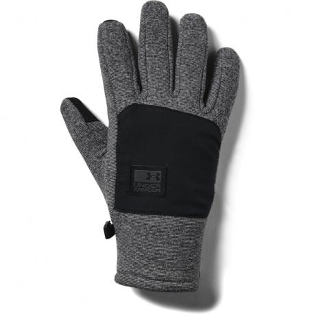 Rukavice UNDER ARMOUR-Mens CGI Fleece Glove-BLK