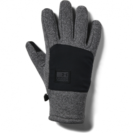 Rukavice UNDER ARMOUR-pánské rukavice CGI Fleece-BLK