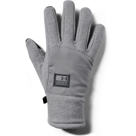 Rukavice UNDER ARMOUR-pánské rukavice CGI Fleece-GRY