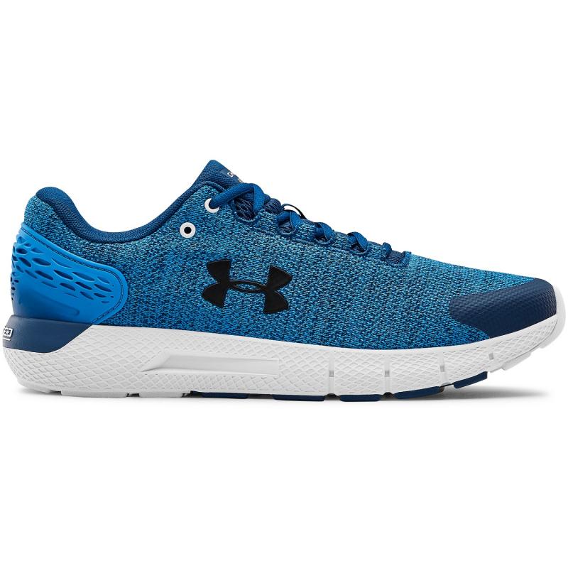 Pánska športová obuv (tréningová) UNDER ARMOUR-Charged Rogue 2 Twist graphite blue/white -