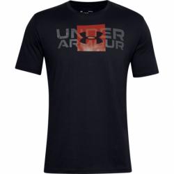 Pánske tričko s krátkym rukávom UNDER ARMOUR-UA BOX LOGO WORDMARK SS-BLK