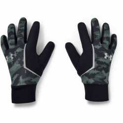 Běžecké rukavice UNDER ARMOUR-Mens CGI Run Liner Glove-BLU
