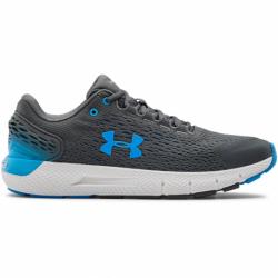 Pánska športová obuv (tréningová) UNDER ARMOUR-Charged Rogue 2 pitch gray/white (EX)