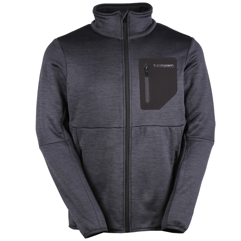 FUNDANGO-Jefferson-891-black heather Čierna XL