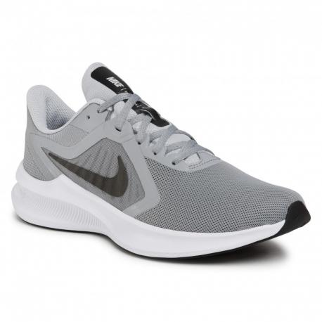 Pánska športová obuv (tréningová) NIKE-Downshifter 10 particle grey/black/grey fog