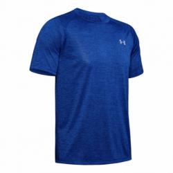Pánske tréningové tričko s krátkym rukávom UNDER ARMOUR-UA Tech 2.0 SS Tee-BLU 403