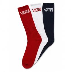 Ponožky VANS-MN CLASSIC CREW 9.5 DRESS BLUES/CHI
