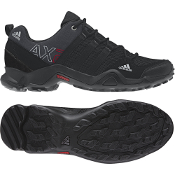 ADIDAS-AX2/DARK SHALE/BLACK 1/LIGHT SCARLET