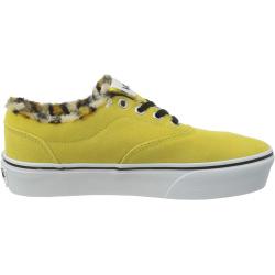 Dámská rekreační obuv VANS-WM Doheny Platform- (Animal) cream gold