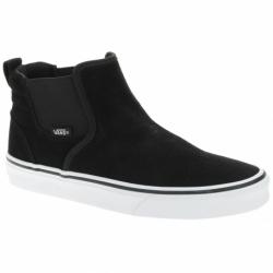 Dámská vycházková obuv VANS-WM Asher MI (Suede) black / white