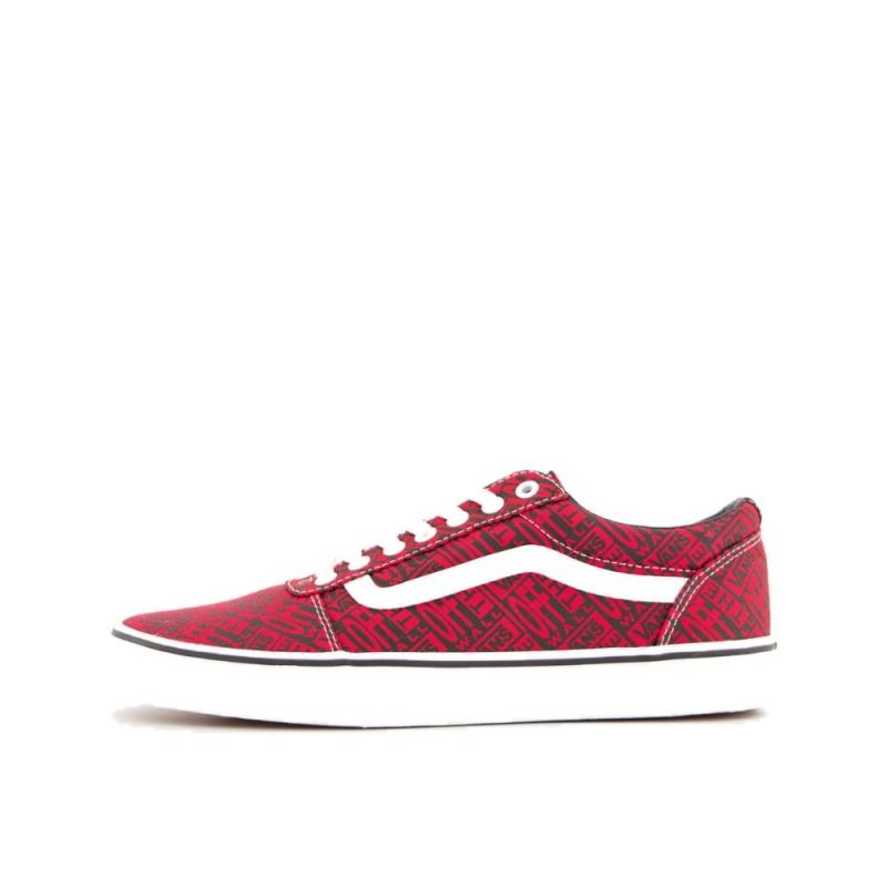 Pánska rekreačná obuv VANS-MN Ward-(OTW logo) red/white -