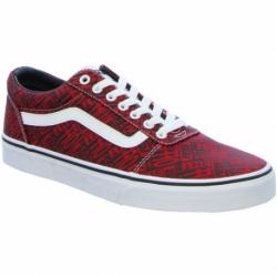 Pánská rekreační obuv VANS-MN Ward- (OTW logo) red / white
