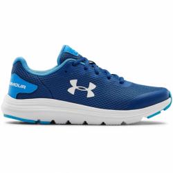 Juniorská sportovní obuv (tréninková) UNDER ARMOUR-GS Surge 2 graphite blue / halo gray