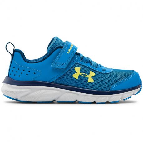 Detská športová obuv (tréningová) UNDER ARMOUR-PS Assert 8 AC electric blue/halo gray