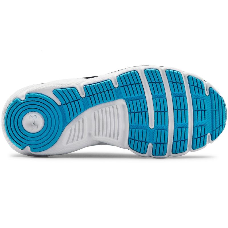 Dětská sportovní obuv (tréninková) UNDER ARMOUR-PS Assert 8 AC electric blue / halo gray -